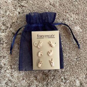 Francesa's Stud Earring Stud Pack